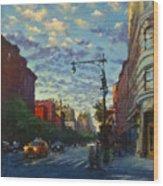 Westside Sunset No. 4 Wood Print