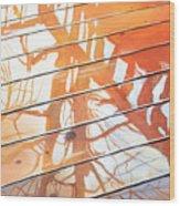 Wet Deck 2 Wood Print