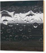 Wet Steel-1 Wood Print