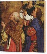 Weyden Bladelin Triptych  Right Wing  Wood Print