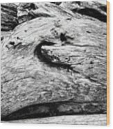 Whake Driftwood Wood Print