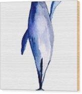 Whale 1 Wood Print