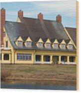 Whalehead Club Wood Print