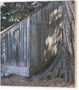 Whalers Cabin Wood Print