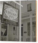 Whaler's Inn Wood Print