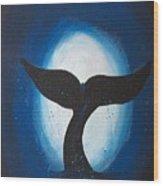 Whales Tale Wood Print