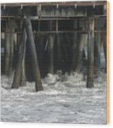 Wharf 2 Wood Print