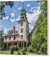 Wharton Mansion Wood Print