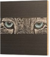 What I See Wood Print