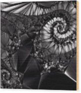 What Tangled Webs We Weave Wood Print