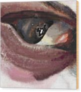 What The Eye Tell's Wood Print