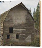 Whatcom Barn_mg_0808-edit- Wood Print