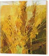 Wheat Field Wood Print