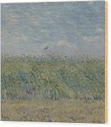 Wheatfield With Partridge Paris, June - July 1887 Vincent Van Gogh 1853 - 1890 Wood Print