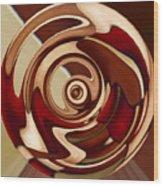 Wheel 4 Wood Print