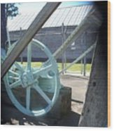 Wheel Of Economy Wood Print