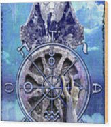 Wheel Of Fortune Wood Print