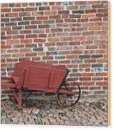 Wheelbarrow Wood Print