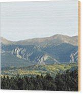 Wheeler From Bobcat Pass Wood Print