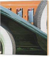 Wheels Wood Print