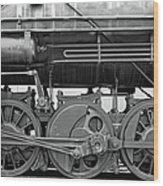 Wheels Of Progress Wood Print