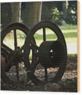 Wheels Of War-spanish American War Artifacts Wood Print