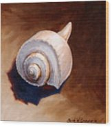 Whelk Wood Print