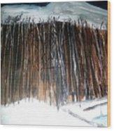 When Night Falls Wood Print