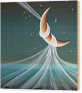 When The Wind Blows Wood Print