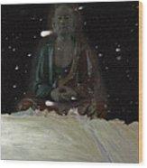 When You Meet The Buddha Wood Print