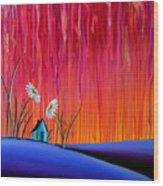 Where Flowers Bloom Wood Print by Cindy Thornton