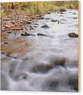 Where Peaceful Waters Flow Wood Print