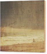 Where The Sky Meets The Sea Wood Print