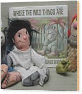 Where The Wild Things Are Wood Print