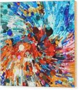 Whirlpool 003 Wood Print