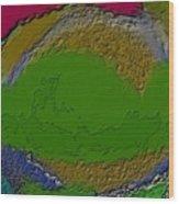 Whirlpool Colors Wood Print