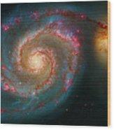 Whirlpool Galaxy M51 Wood Print
