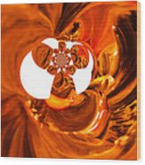Whirls Abstract Wood Print