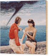 Whirlwind Romance Wood Print