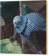 Whirly Bird Wood Print