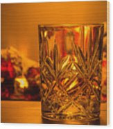 Whiskey In A Glass Wood Print