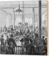 Whiskey Ring Trial, 1876 Wood Print