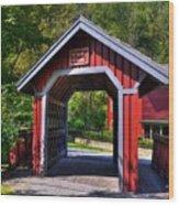 Whisky Creek Wood Print