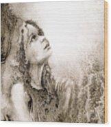 Whisper A Little Prayer For Me Wood Print
