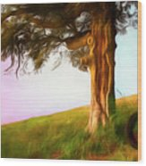 Whispers Of The Wind Wood Print
