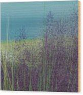 Whispy Field Wood Print