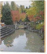 Whistler Autumn Foliage Wood Print