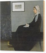 Whistlers Mother Wood Print
