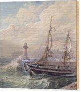 Whitby, 1883 Wood Print