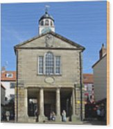 Whitby Old Town Hall Wood Print